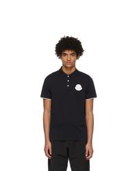 Moncler Navy Cotton Polo