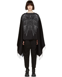 Black asier poncho medium 1151867