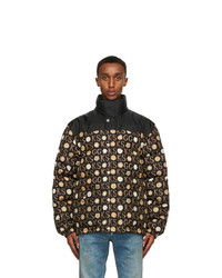 Gucci Black Ken Scott Edition Down Print Jacket