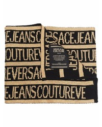 VERSACE JEANS COUTURE All Over Logo Scarf