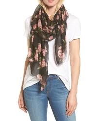 Floral print scarf medium 5054843