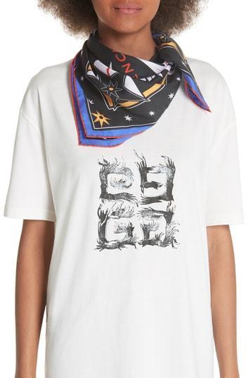 Givenchy Iconic Flash Silk Twill Scarf