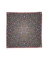 Alexander McQueen Jeweled Bugs Print Silk Scarf