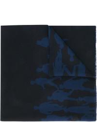 Salvatore Ferragamo Silhouette Print Scarf