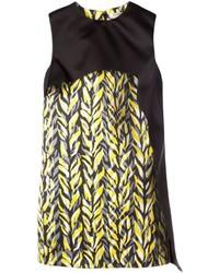 Balenciaga Layered Printed Shift Dress