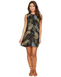 RVCA Roadside Printed Palm Shift Dress Clothing