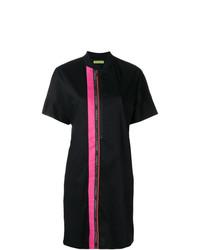 Versace Jeans Contrast Stripe Shirt Dress