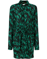 Saint Laurent Printed Shirt Dress