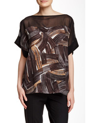 Lafayette 148 ari silk blouse medium 374283