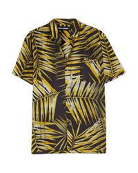 Double Rainbouu Printed Cotton Voile Shirt