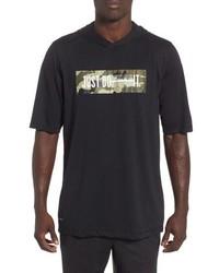 Nike Dry Hooded T Shirt
