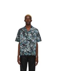 Givenchy Black And Multicolor Hawaii Shirt