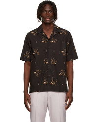 Paul Smith Black Tailored Short Sleeve Shirt