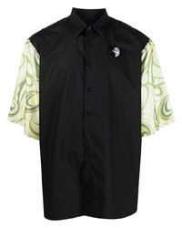 Raf Simons Contrast Sleeve Shirt