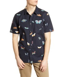 Vans Metamorphosis Classic Fit Short Sleeve Button Up Shirt