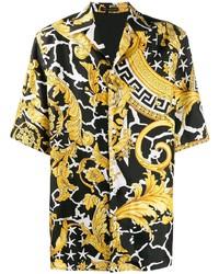 Versace Savage Barocco Print Shirt
