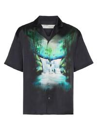 Off-White Waterfall Print Shirt