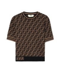 Fendi Jacquard Knit Sweater