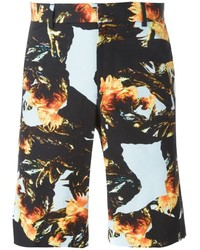 Givenchy Collage Print Shorts