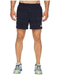 New Balance Impact 5 Track Shorts Print Shorts