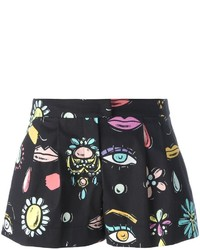 Moschino Boutique Multi Print Shorts
