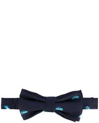 fe-fe Fef Car Print Bow Tie