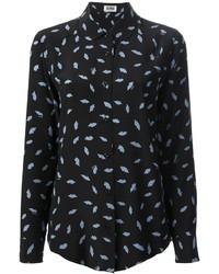 Sonia rykiel sonia by lip print blouse medium 33293