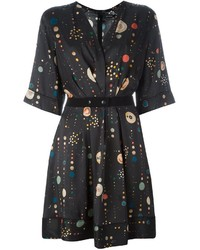 Isabel Marant Odena Cosmic Print Dress