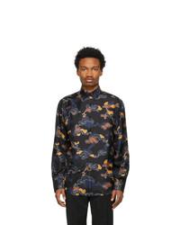 Lanvin Black Printed Shirt