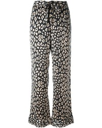 Equipment Printed Straight Trousers