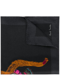 Paul Smith Monkey Print Pocket Square