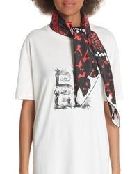 Givenchy 4g Patchwork Silk Scarf