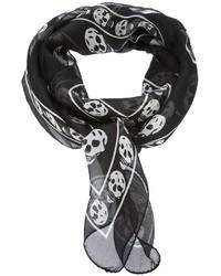Alexander mcqueen skull scarf medium 429145