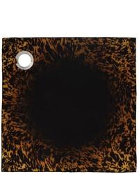 Givenchy Black Yellow Eyelet Scarf