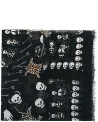 Alexander McQueen Voodoo Skull Scarf