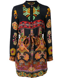 Etro Printed Belt Shirt