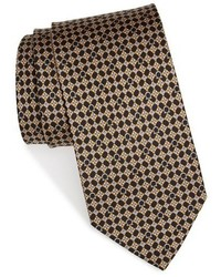 Gancini print silk tie medium 783913