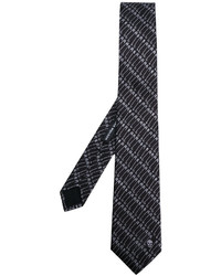 Alexander McQueen Safety Pin Printed Tie