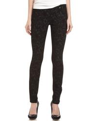 Gwenevere jacquard print skinny jeans medium 102343
