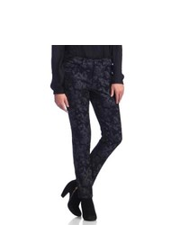 Live A Little Shadow Print Skinny Jeans