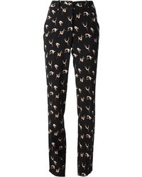 Andrea incontri diver print straight leg trousers medium 45377