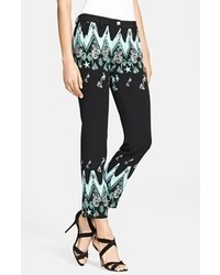 Versace Collection Frequency Print Ankle Pants