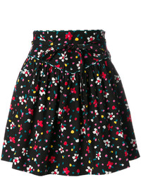 Marc Jacobs Painted Flower Print Skirt