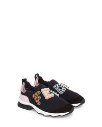 Fendi Logo Slip On Sneaker