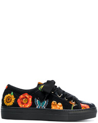 Etro Mixed Prints Sneakers