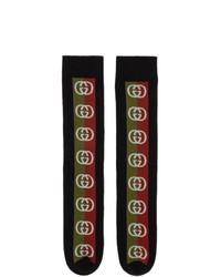 Gucci Black Lostongey Socks