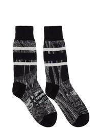 Sacai Black Sun Surf Edition Diamond Head Socks