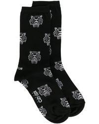 Kenzo Tiger Print Socks