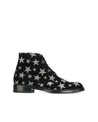 Saint Laurent Lolita 20 Lace Up Ankle Boots