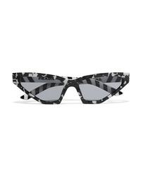 Prada Cat Eye Marbled Acetate Sunglasses